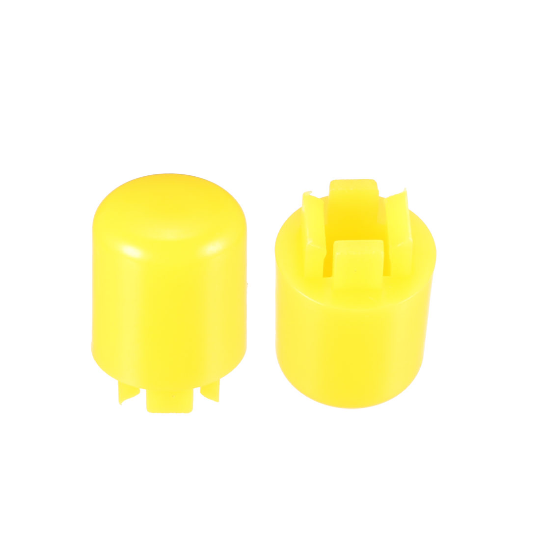 20Pcs Pushbutton Tactile Switch Caps Cover Yellow for 12x12x7.3mm Tact Switch