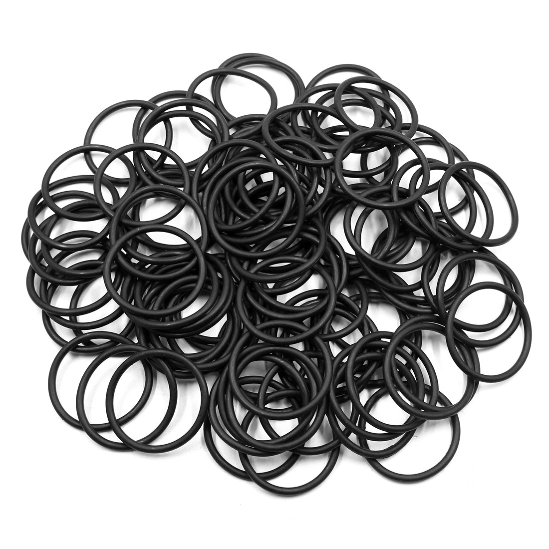 100pcs Black Universal Nitrile Rubber O-Ring Seals Gasket for Car 40 x 3.55mm
