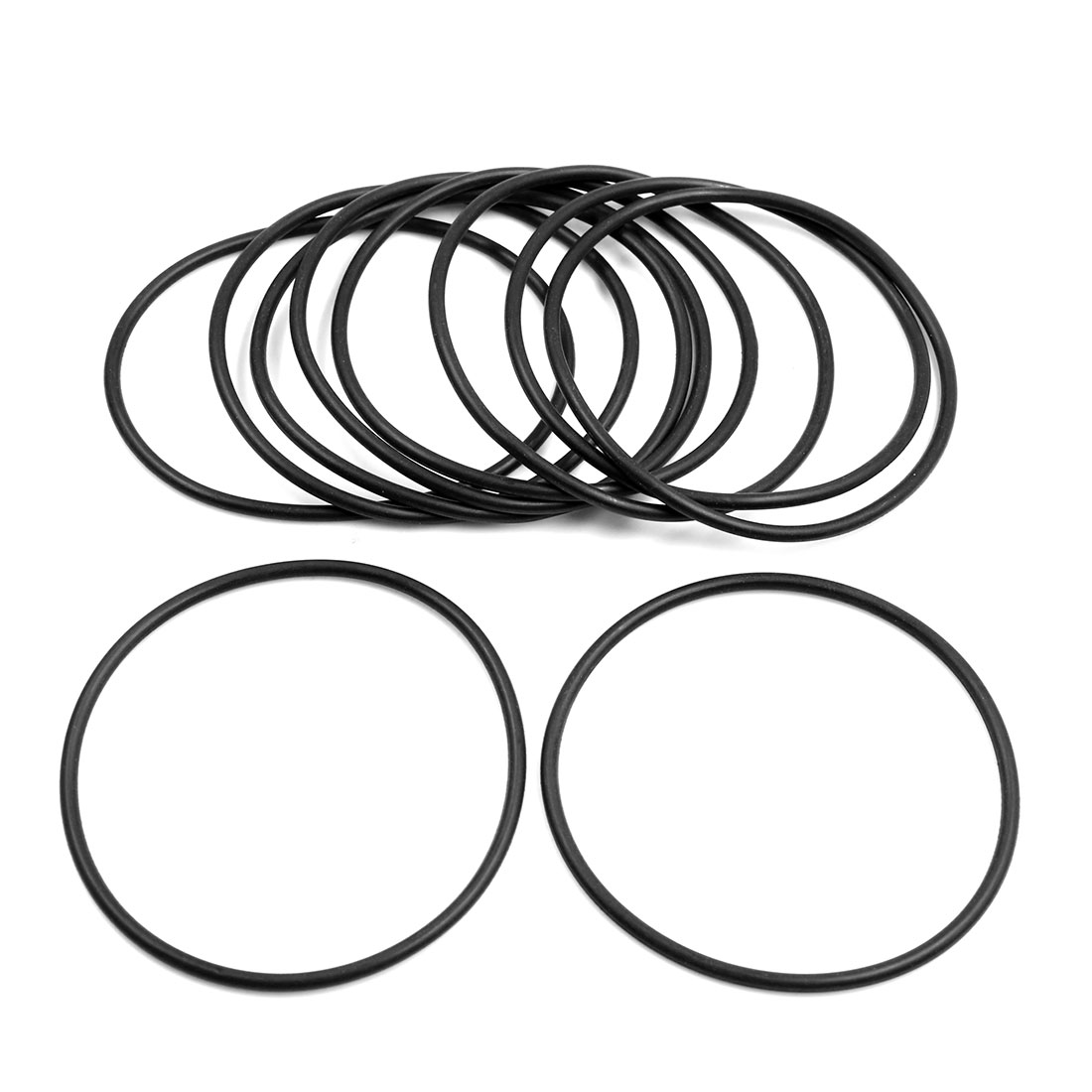 10pcs Black Universal Nitrile Rubber O-Ring Seals Gasket for Car 85 x 3.55mm