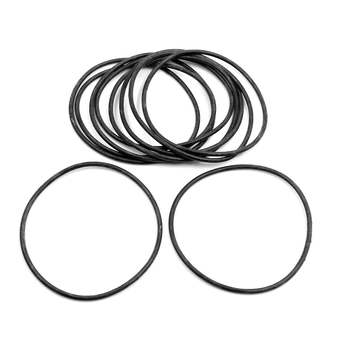10pcs Black Universal Nitrile Rubber O-Ring Seals Gasket for Car 97.5 x 3.55mm