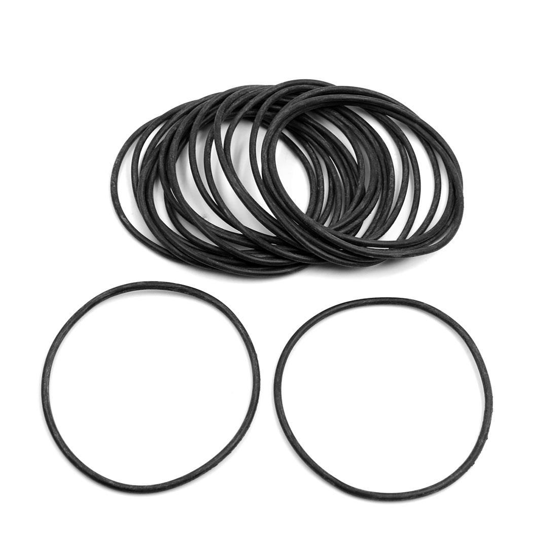 20pcs Black Universal Nitrile Rubber O-Ring Seals Gasket for Car 97.5 x 3.55mm