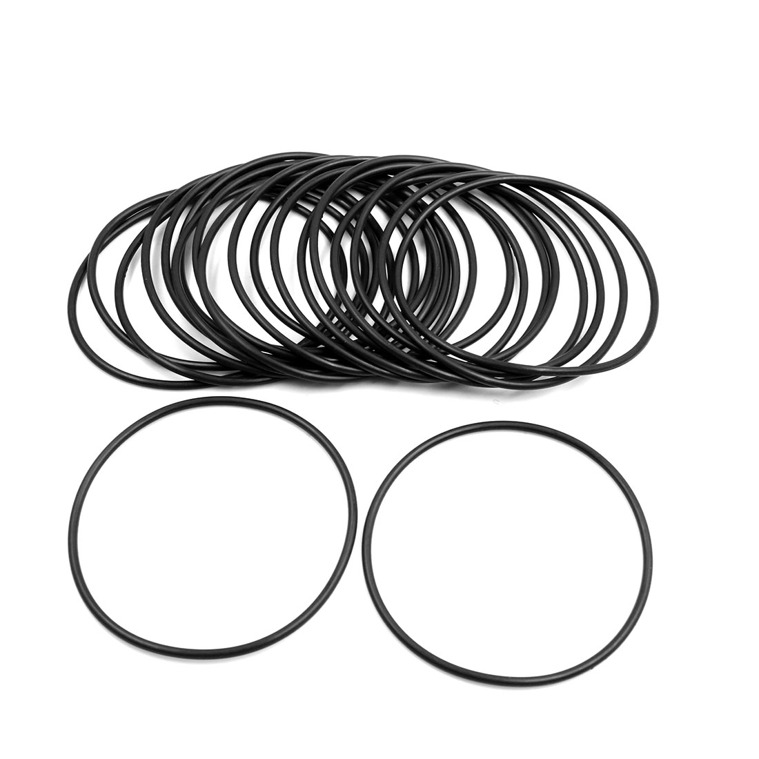 20pcs Black Universal Nitrile Rubber O-Ring Seals Gasket for Car 100 x 3.55mm