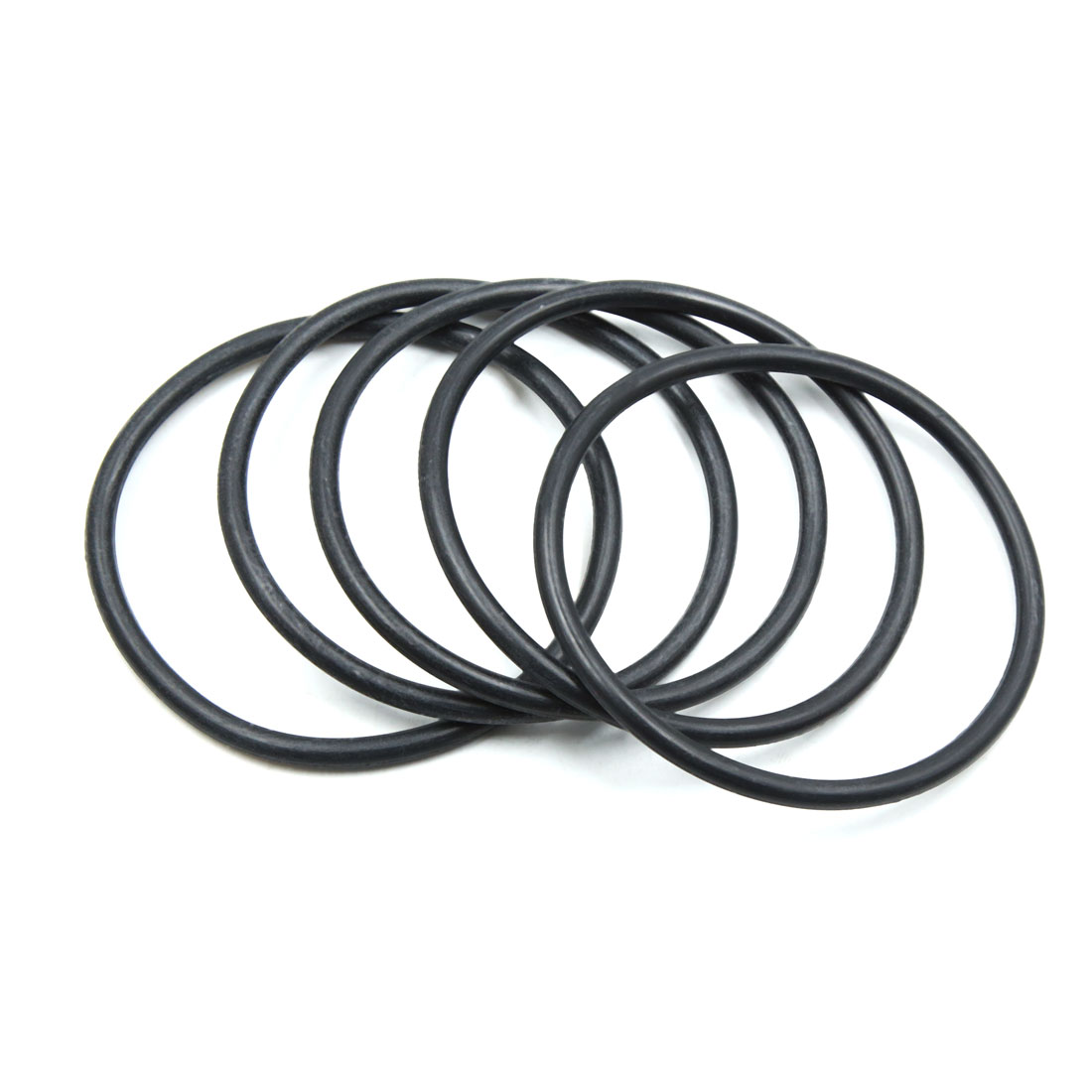 5pcs Black NBR O-Ring Seal Gasket Washer for Automotive Car 85mm x 5.3mm