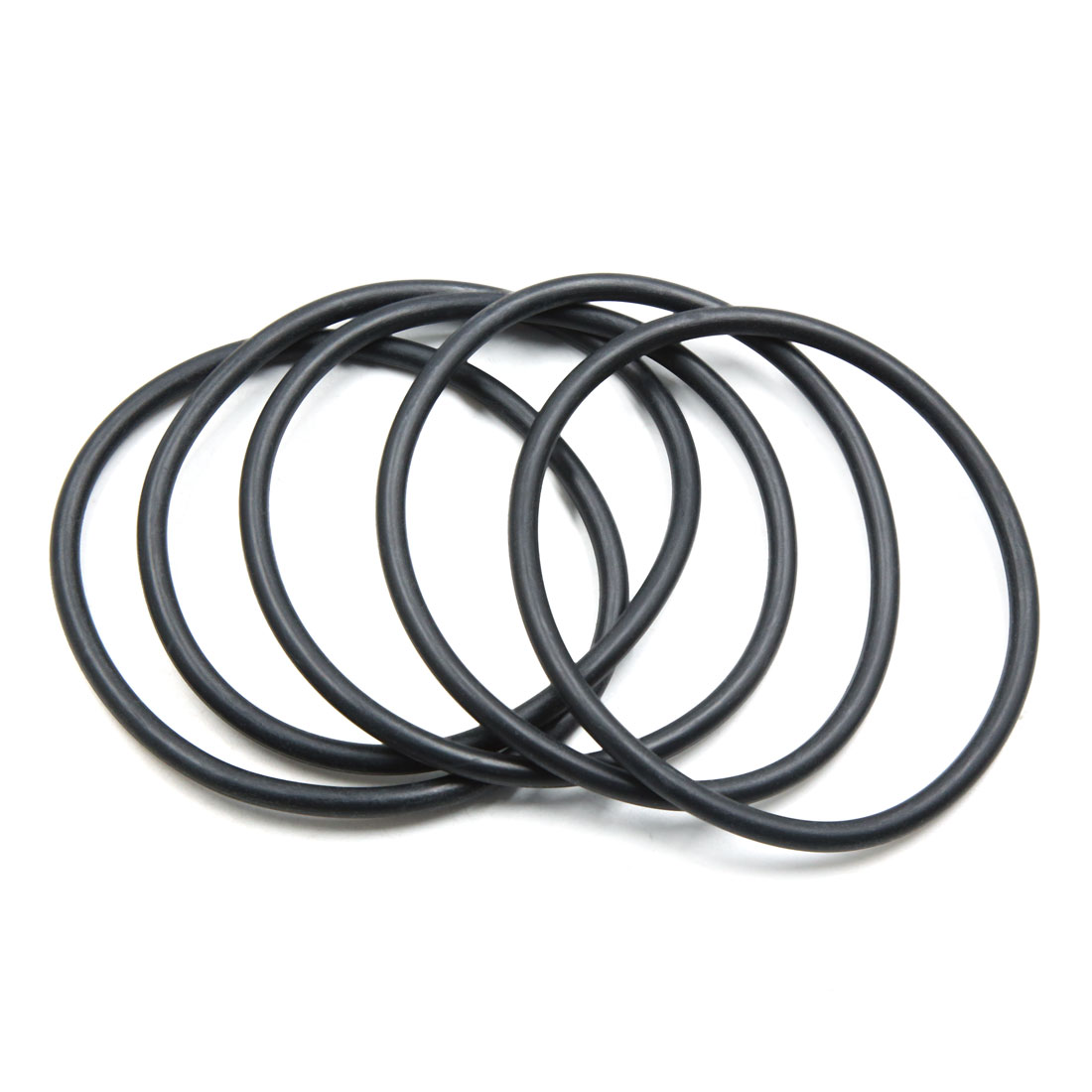 5pcs Black NBR O-Ring Seal Gasket Washer for Automotive Car 90mm x 5.3mm