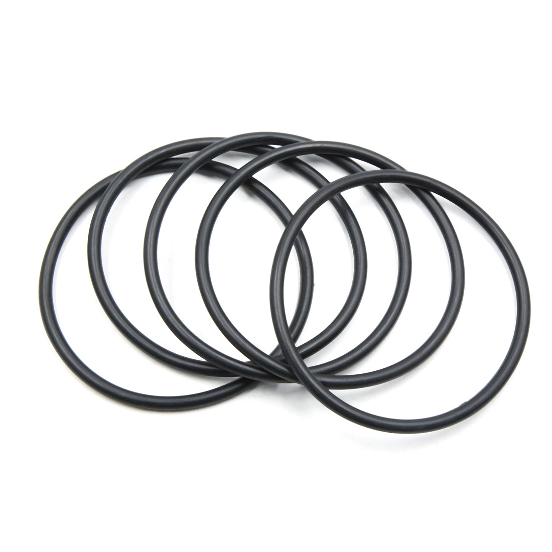 5pcs Black NBR O-Ring Seal Gasket Washer for Automotive Car 95mm x 5.3mm