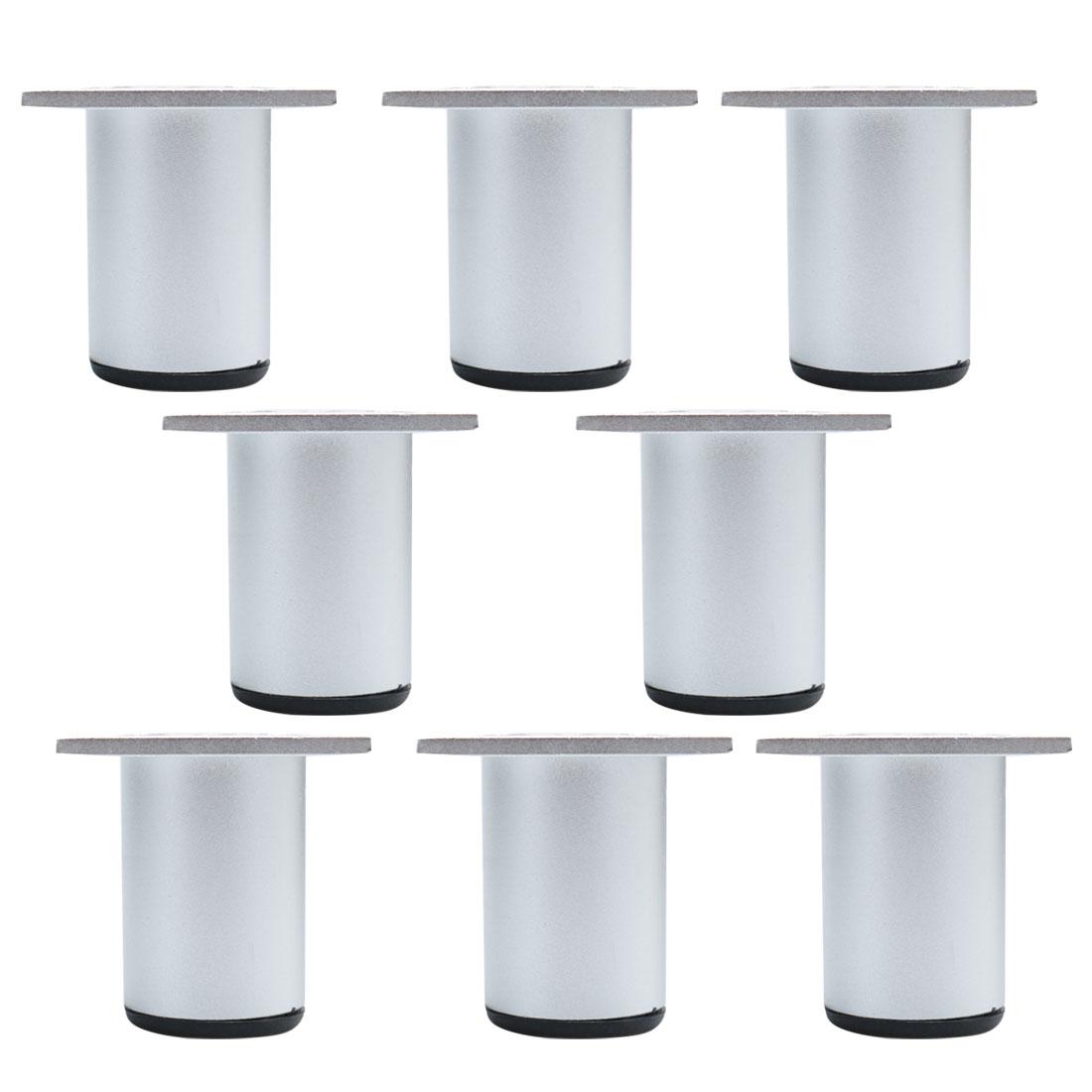 "2.4"" Furniture Legs Aluminium Alloy Sofa Table Replacement Height Adjuster 8pcs"