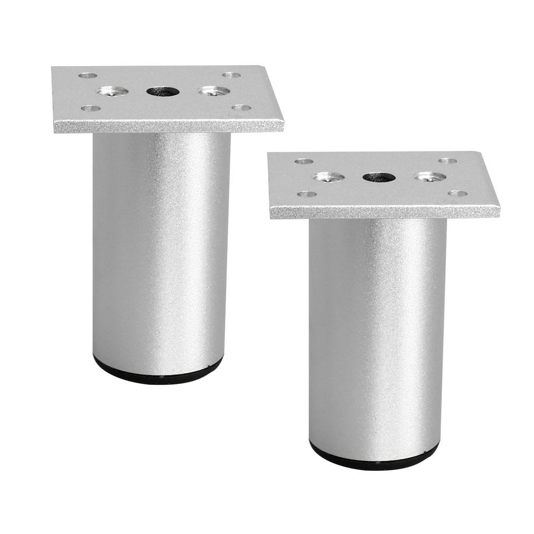 "3"" Furniture Legs Aluminium Alloy Sofa Table Replacement Height Adjuster 2pcs"