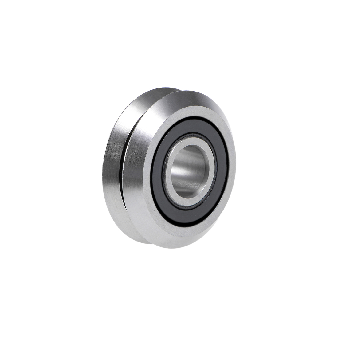 """W2-2RS W-Groove Ball Bearing 3/8""""x1-1/5""""x4/9"""" RM2-2RS Guide Pulley Bearings"""