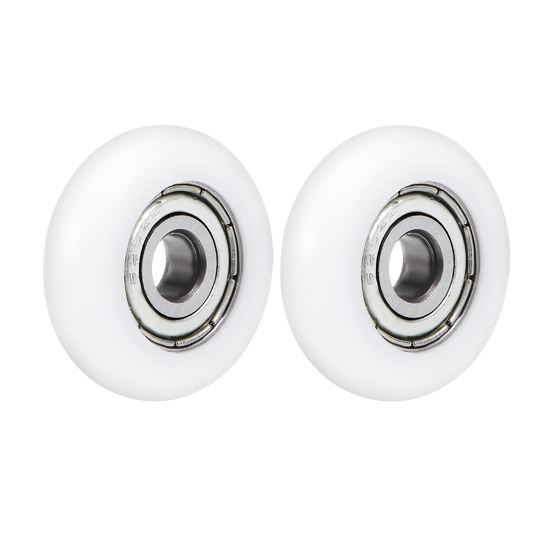 625ZZ Plastic Coated Ball Bearing 5x23x7mm for Door Window Furniture Pulley 2pcs