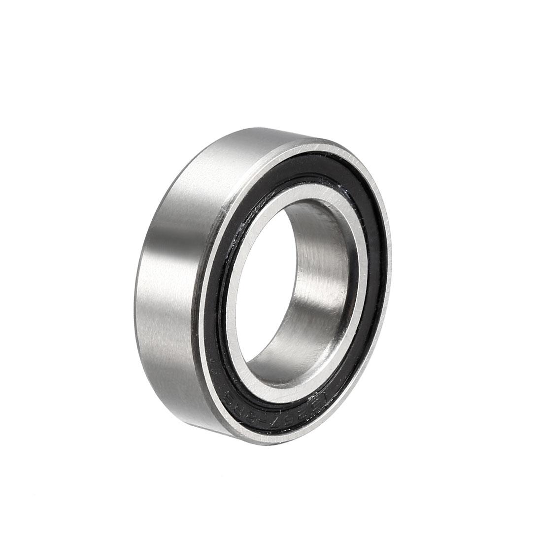 MR15267-2RS Deep Groove Ball Bearing 15x26x7mm Double Sealed Chrome Bearings