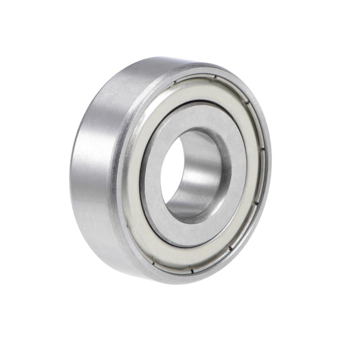 "1628ZZ Deep Groove Ball Bearing 5/8""x1-5/8""x1/2"" Double Shielded Chrome Bearings"