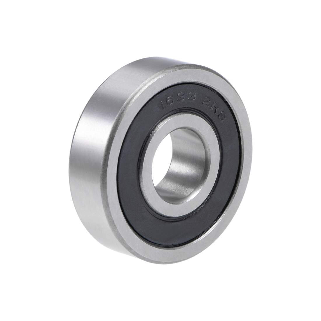 "1633-2RS Deep Groove Ball Bearing 5/8""x1-3/4""x1/2"" Double Sealed Chrome Bearings"
