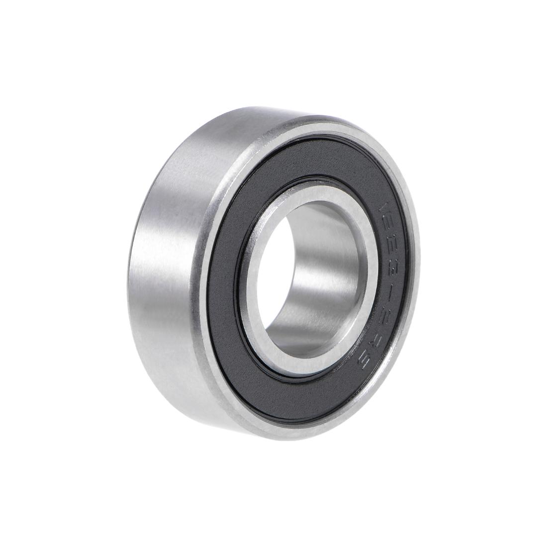 "1623-2RS Deep Groove Ball Bearing 5/8""x1-3/8""x7/16"" Shielded Chrome Z2 Bearings"