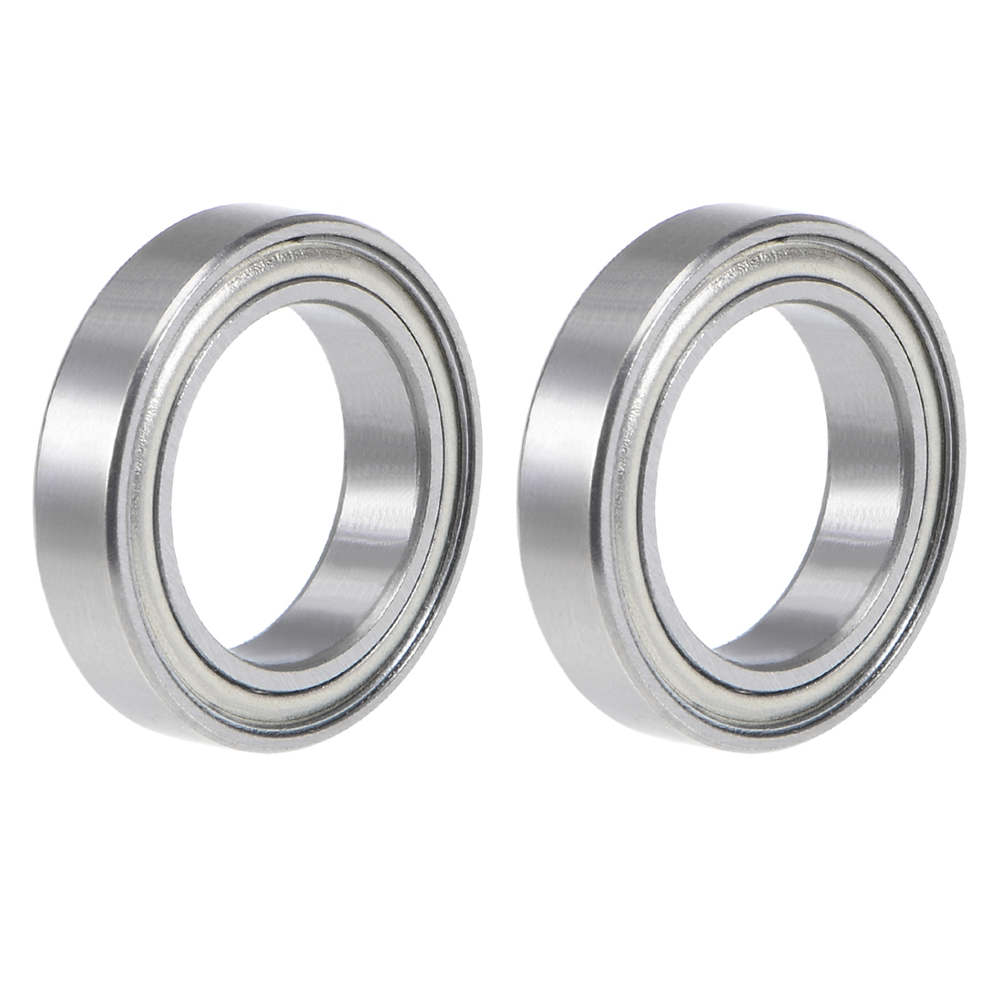 6701ZZ Deep Groove Ball Bearing 12x18x4mm Double Shielded Chrome Bearings 2pcs