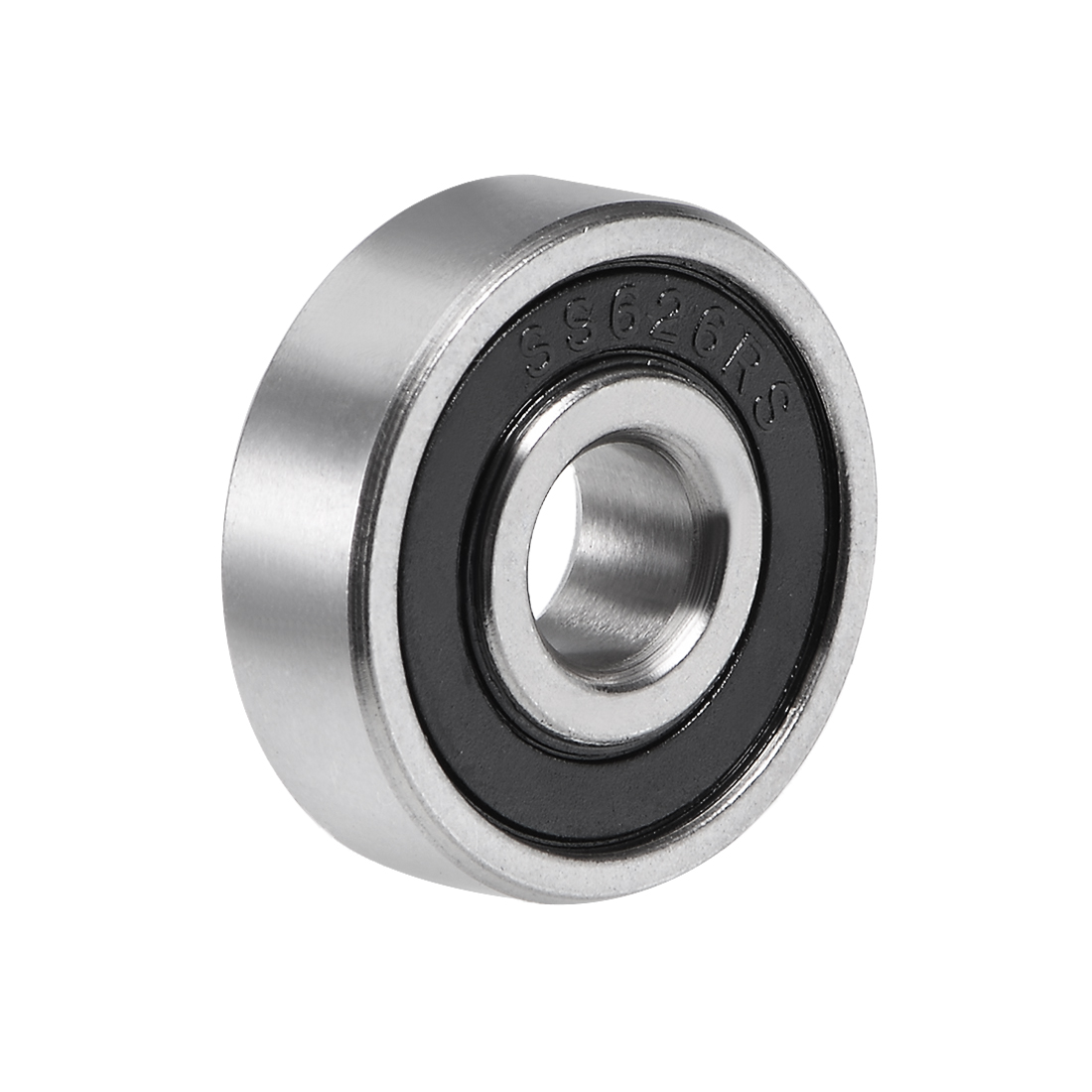 S626-2RS Stainless Steel Ball Bearing 6x19x6mm Double Sealed 626RS Bearings