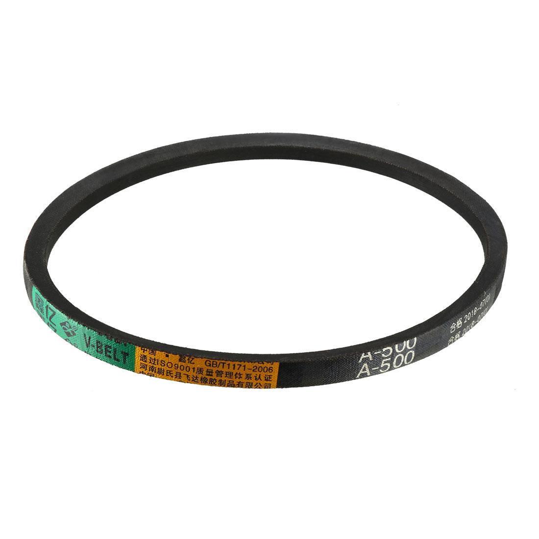 A-500/A20 Drive V-Belt Inner Girth 20-inch Industrial Power Rubber Belt