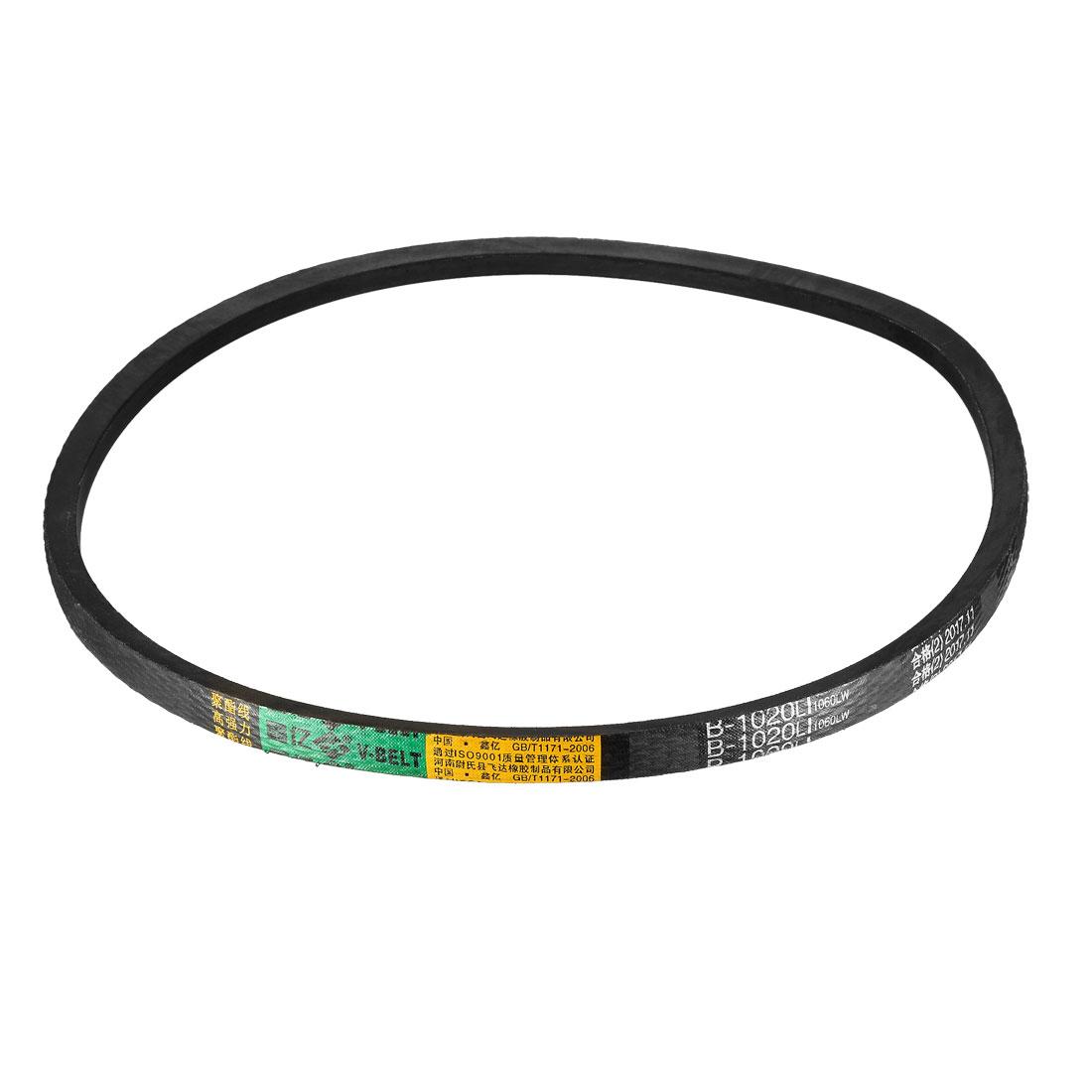 B-1020/B40 Drive V-Belt Inner Girth 40-inch Industrial Power Rubber Belt