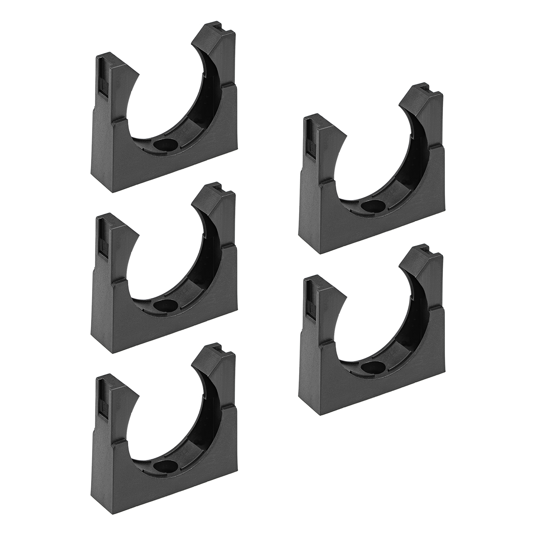 Corrugated Tube Holder AD54.5 Plastic Mounting Bracket Pipe Clamp Clips 5Pcs