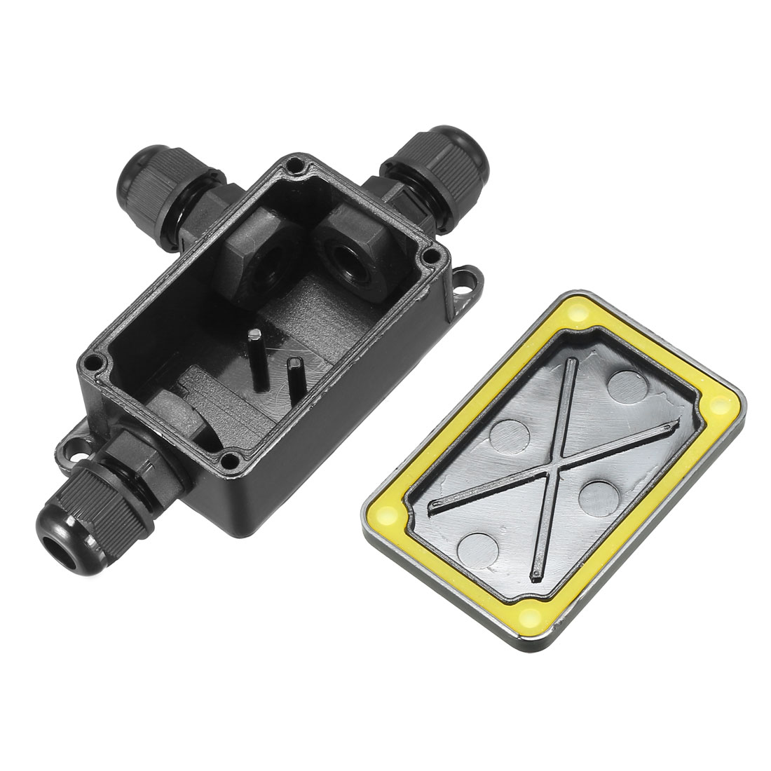Waterproof IP66 Outdoor Electrical M10x1.5 Cable Gland Electrical Junction Box