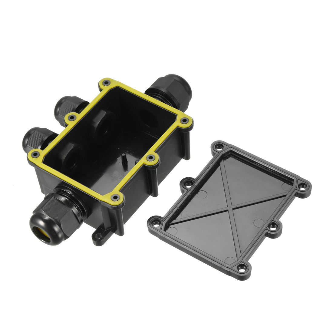 Waterproof IP68 Outdoor PC Electrical PG9 Cable Gland Electrical Junction Box