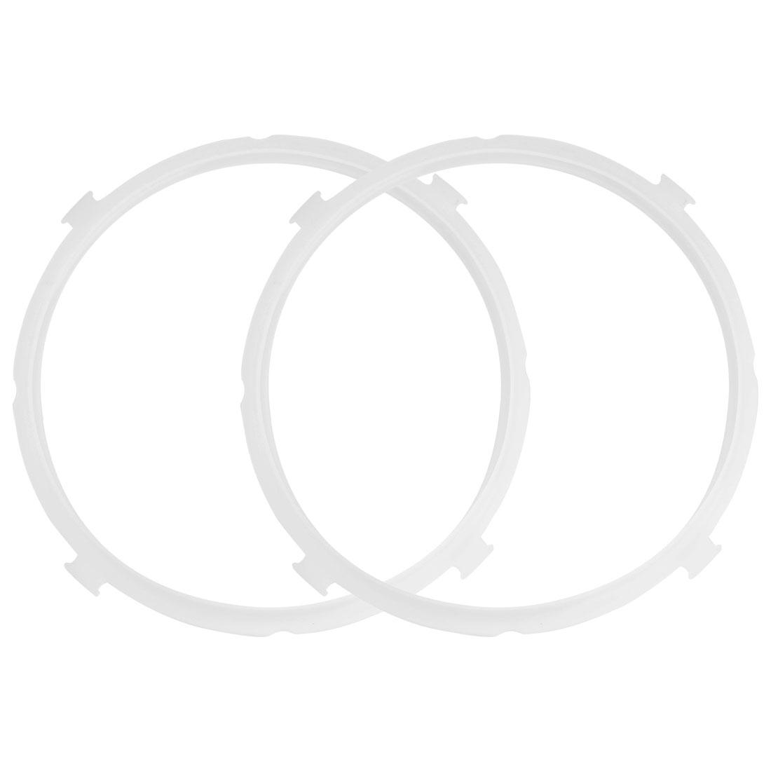 "2pcs Silicone Gasket Sealing Ring Sealer Inner Dia - 8.7"" , Fits 5/6 QT Models"