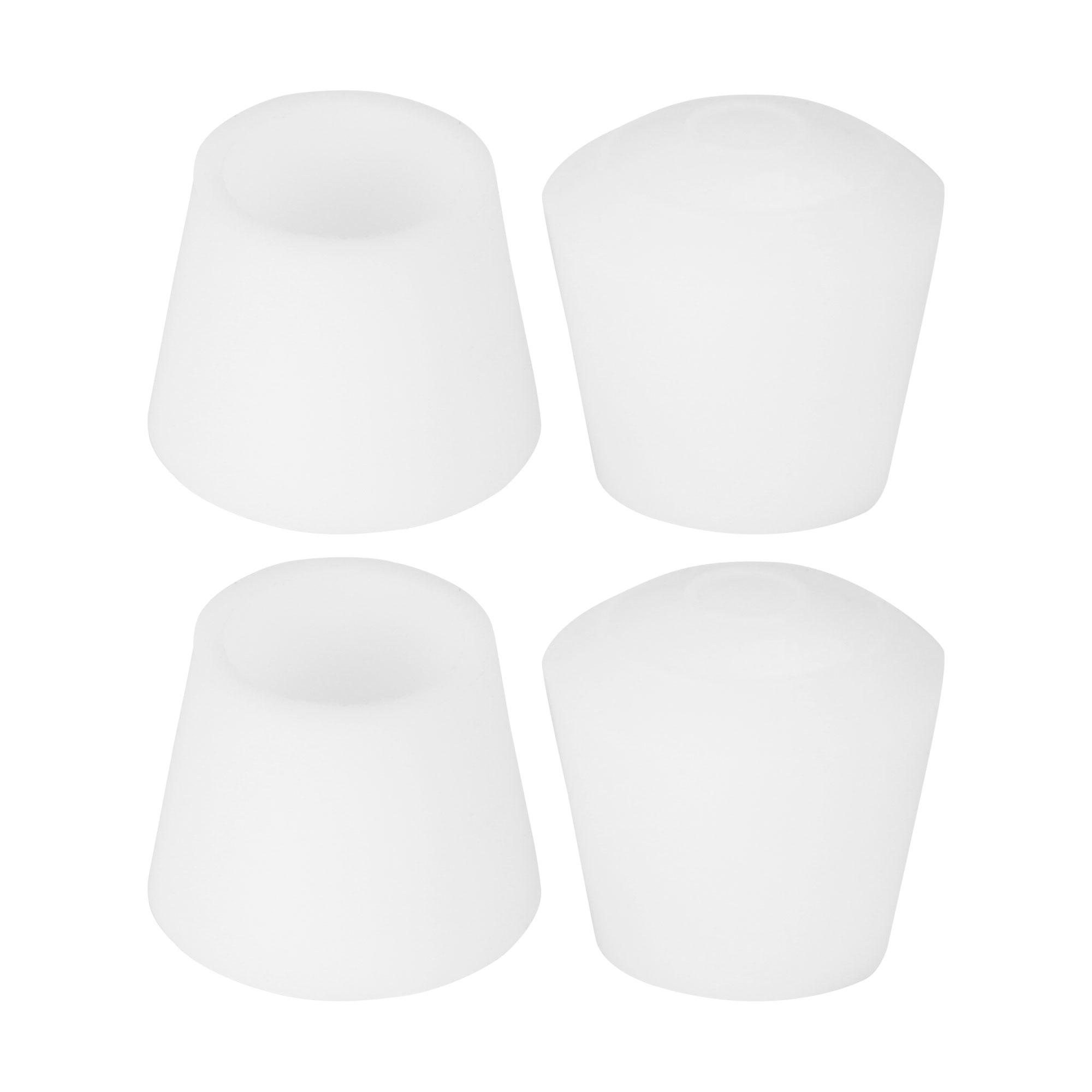 """Rubber Leg Caps Tip Cup Feet Cover 10mm 3/8"""" Inner Dia 4pcs for Furniture Chair"""