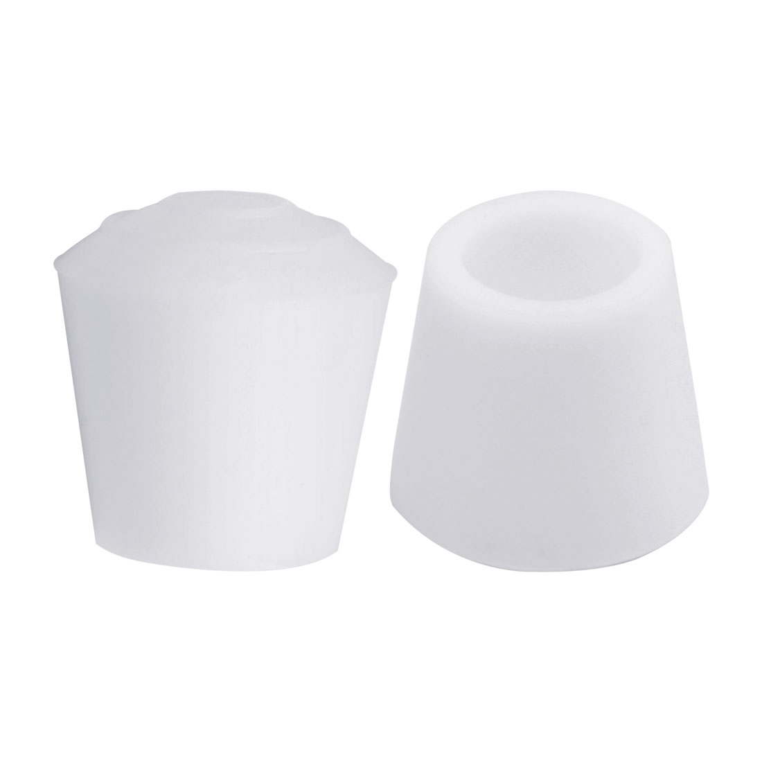 "Rubber Leg Cap Tip Cup Feet Cover 12mm 1/2"" Inner Dia 2pcs for Furniture Desk"