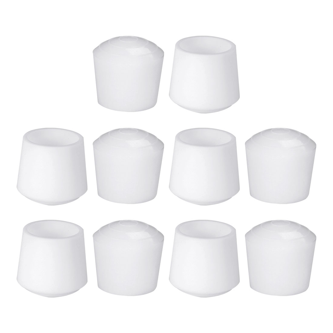 "Rubber Leg Caps Tip Cup Feet Cover 32mm 1 1/4"" Inner Dia 10pcs for Furniture"