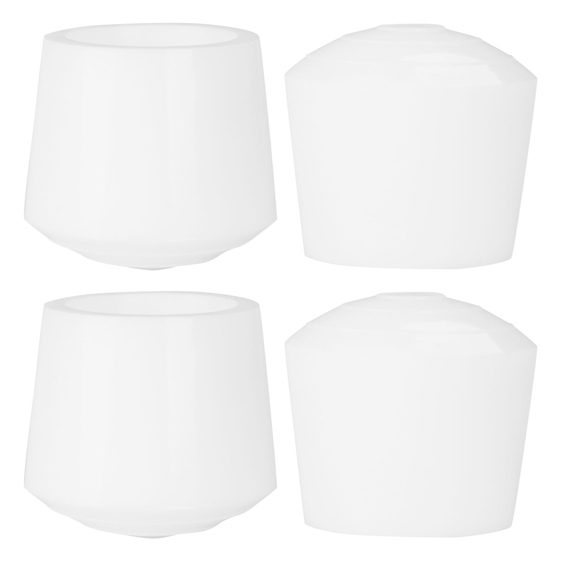 """Rubber Leg Caps Tip Cup Feet Cover 35mm 1 3/8"""" Inner Dia 4pcs for Furniture"""