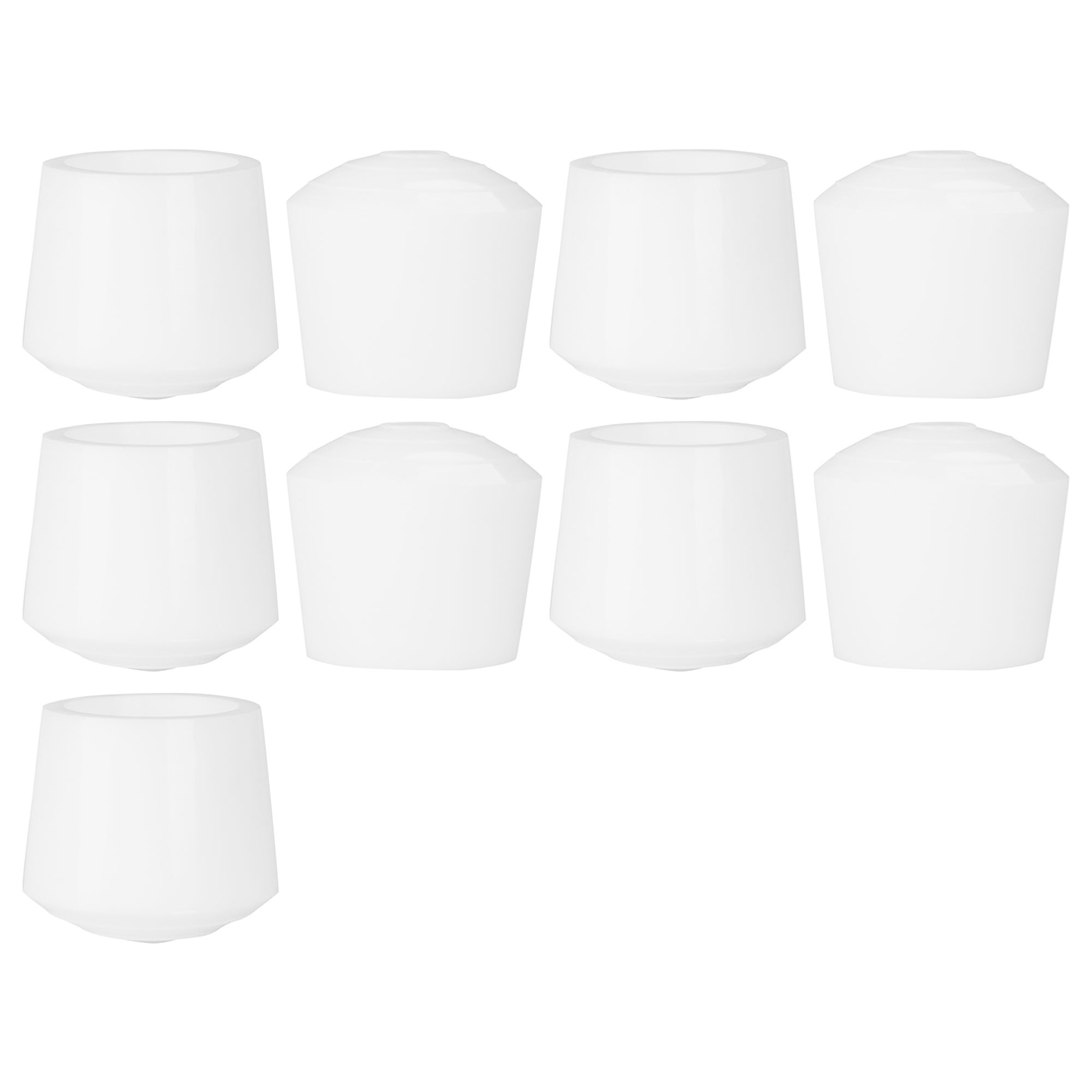 "Rubber Leg Caps Tip Cup Feet Cover 35mm 1 3/8"" Inner Dia 9pcs for Furniture"