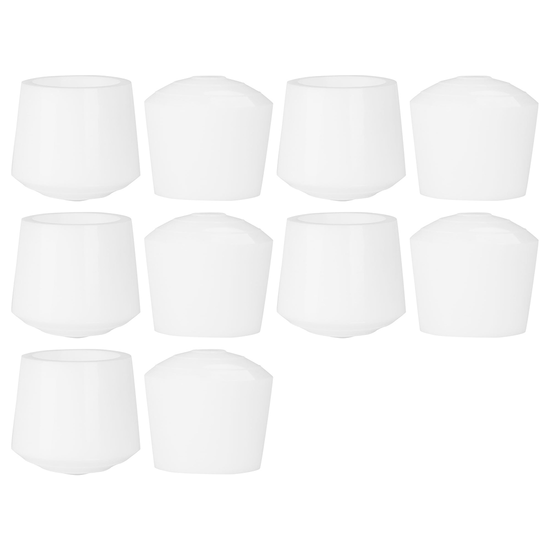 """Rubber Leg Caps Tip Cup Feet Cover 35mm 1 3/8"""" Inner Dia 10pcs for Furniture"""