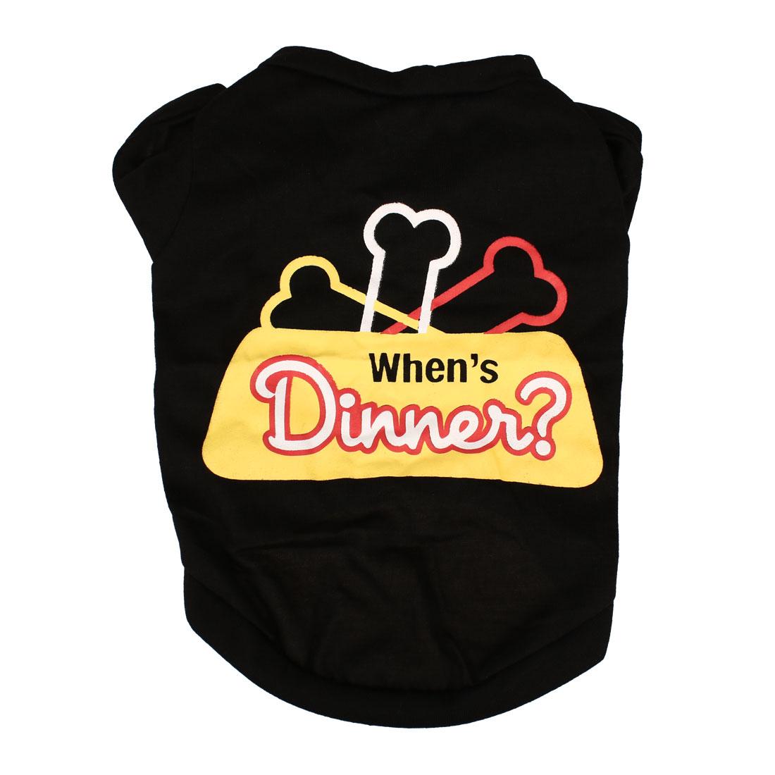 Dog T Shirt Puppy Pet Cat Sweatshirt Tops Clothes Apparel Vest Costume, #15, XS
