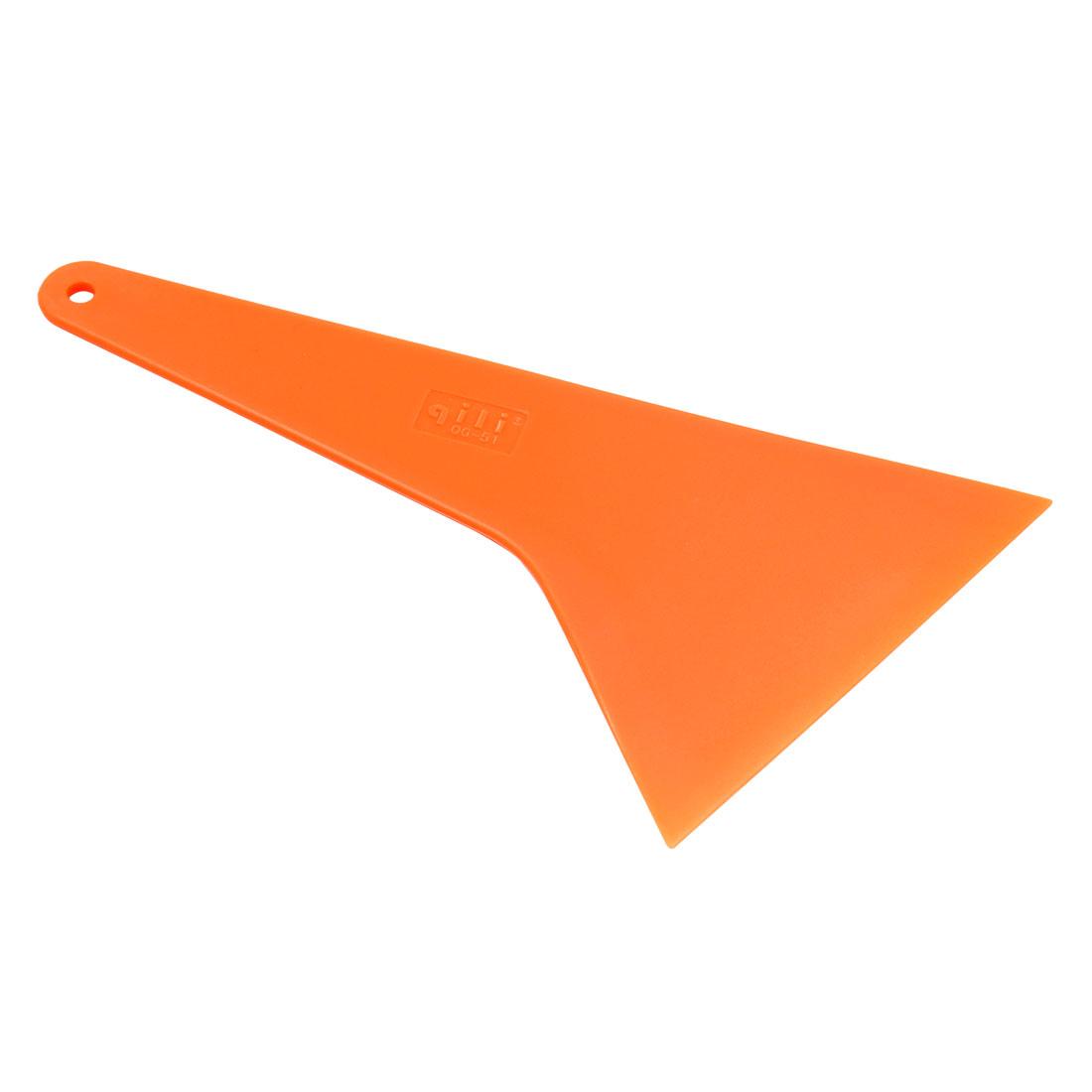 Orange Windshield Window Ice Scraper Snow Shovel Wiper for Car Vehicle