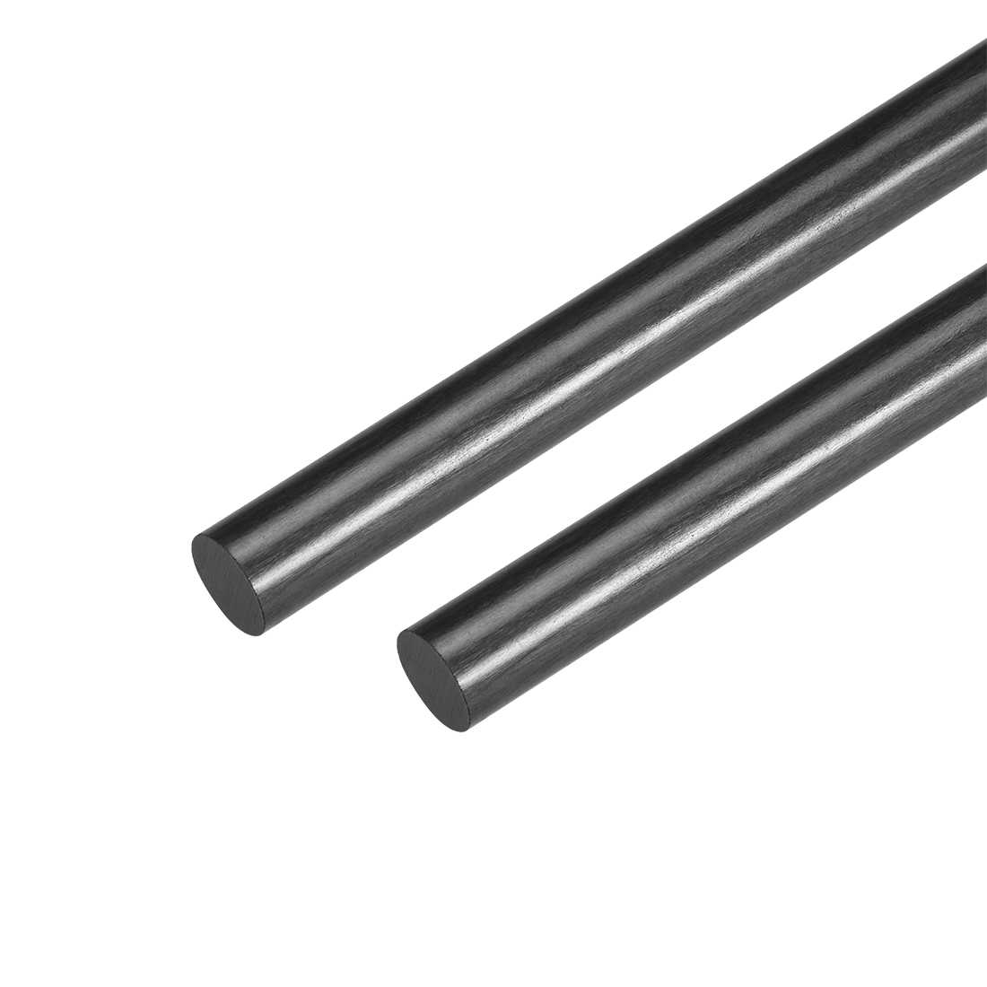 8.5mm Carbon Fiber Bar For RC Airplane Matte Pole US, 200mm 7.8 inch, 2pcs