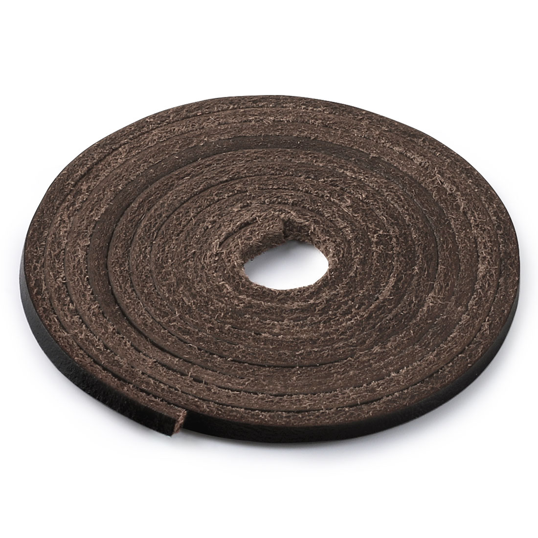 """Leather Boot Shoelaces for Boat Shoes Shoe Laces Coffee 110cm / 43.3"""""""