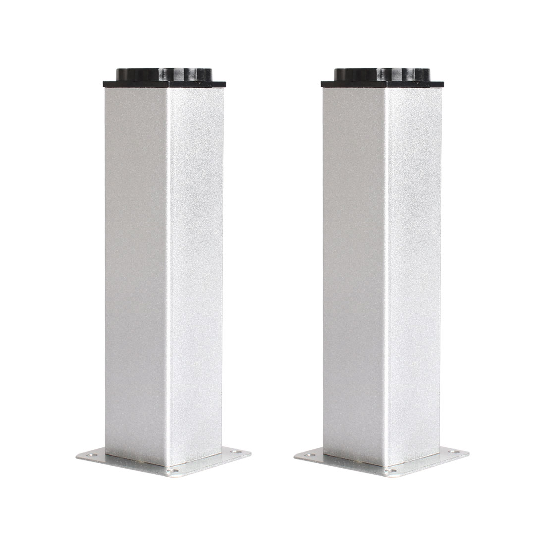 "7"" Furniture Leg Aluminium Alloy Table Height Replacement Adjustable Feet 2pcs"