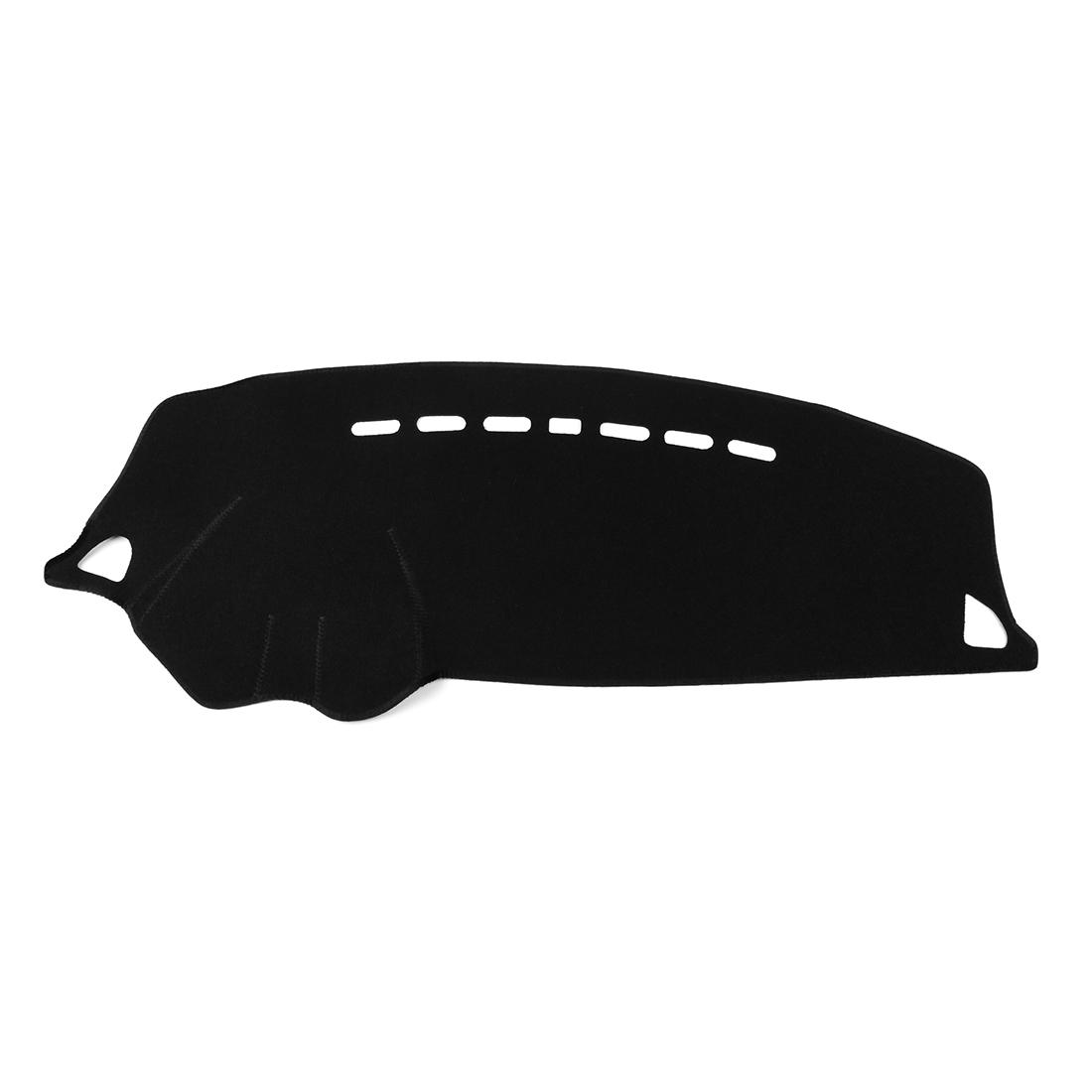 Car Dashboard Cover Nonslip Black Dash Mat Pad for 08-17 Mitsubishi Lancer EX