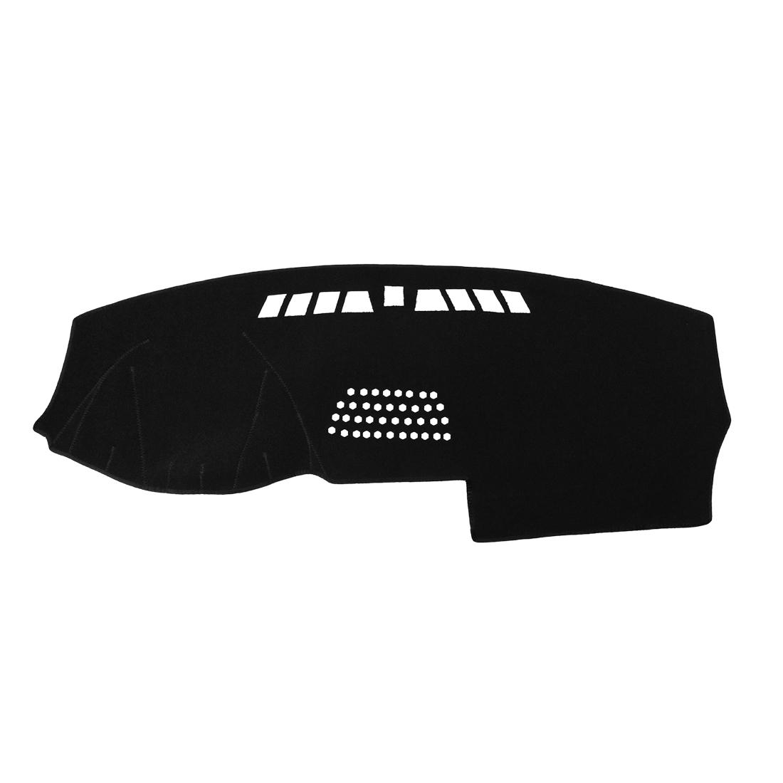 Car Dashboard Cover Nonslip Black Dash Mat Sun Pad for 2004-2013 Volvo XC90