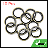 10pcs Engine Oil Crush Washers Drain Plug Gaskets 14mm ID. 20mm OD. for Car