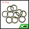 10pcs Engine Oil Crush Washers Drain Plug Gaskets 20mm ID. 28mm OD. for Car