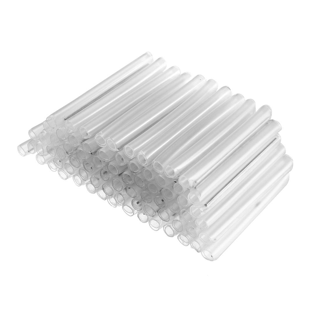 58mm 5.6mmOD Fiber Optic Splice Tube Protector, Heat Shrinkable Tubing 300pcs