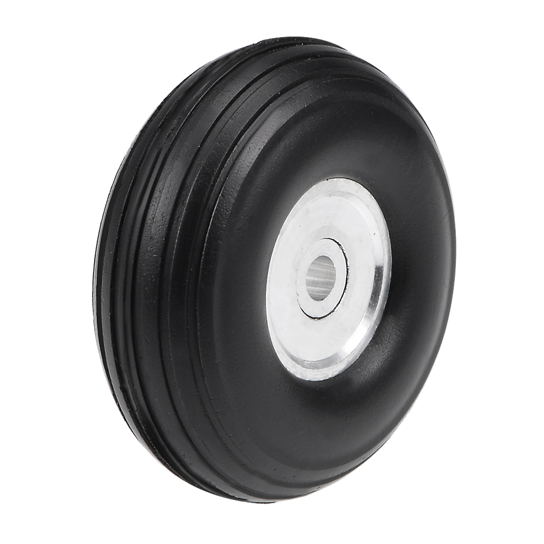 Tire and Wheel Sets for RC Car Airplane,PU Sponge Tire with Aluminum Hub,1.25""