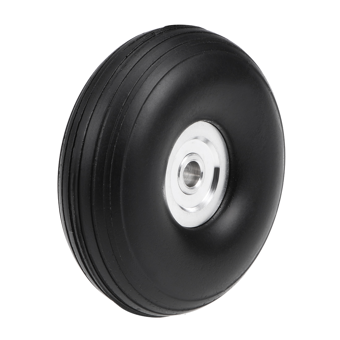 """Tire and Wheel Sets for RC Car Airplane,PU Sponge Tire with Aluminum Hub,1.75"""""""