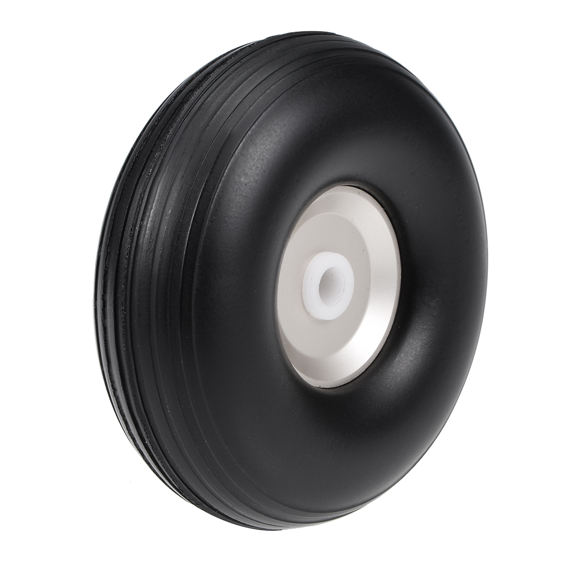 """Tire and Wheel Sets for RC Car Airplane,PU Sponge Tire with Aluminum Hub,2"""""""