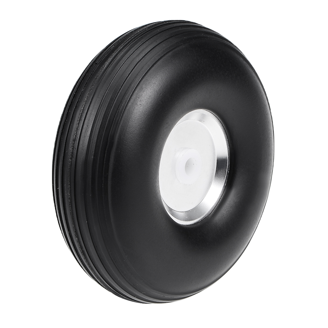 """Tire and Wheel Sets for RC Car Airplane,PU Sponge Tire with Aluminum Hub,2.5"""""""