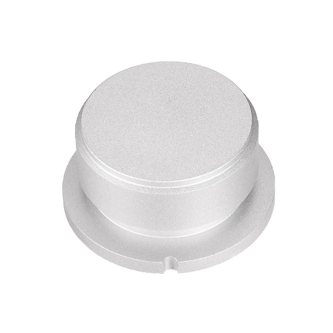 Stereo Knob, 38*6 mm Aluminium Alloy, Volume Control Knobs, Sliver