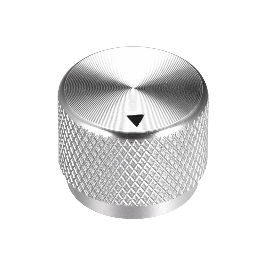 Stereo Knob, 20*6*15.5 mm Aluminium Alloy, Volume Control Knobs, Sliver