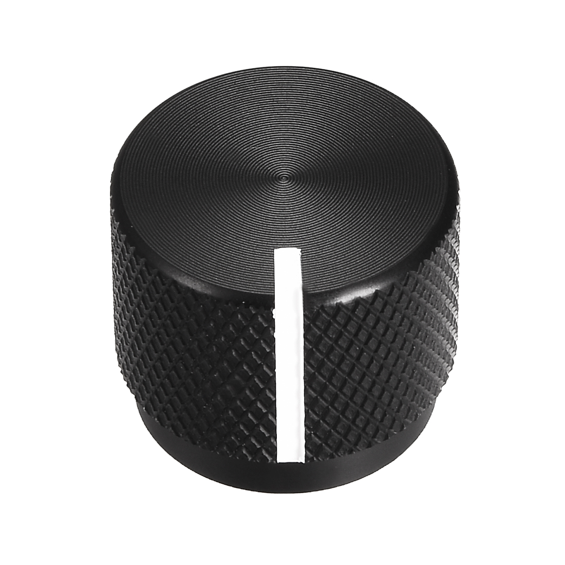 Stereo Knob, 20*6*17 mm Aluminium Alloy, Volume Control Knobs, Black