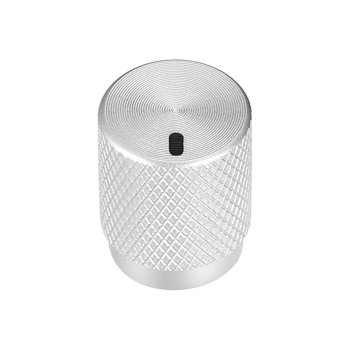 Stereo Knob, 12.5*6*16 mm Aluminium Alloy, Volume Control Knobs, Sliver