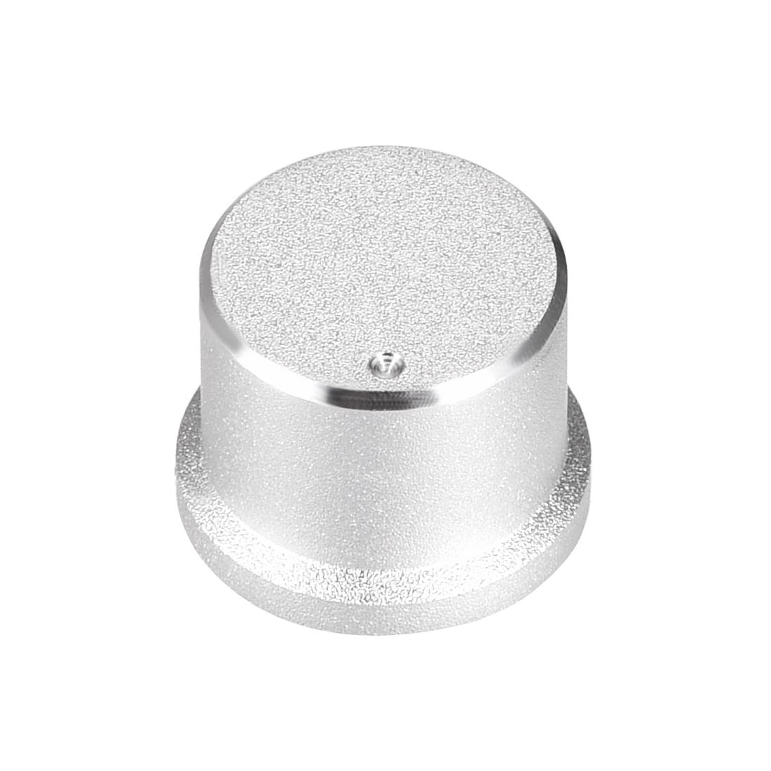 Stereo Knob, 16*6*12 mm Aluminium Alloy, Volume Control Knobs, Sliver
